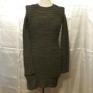 Body Con Tee Shirt Dress by Bisou Bisou Size XS